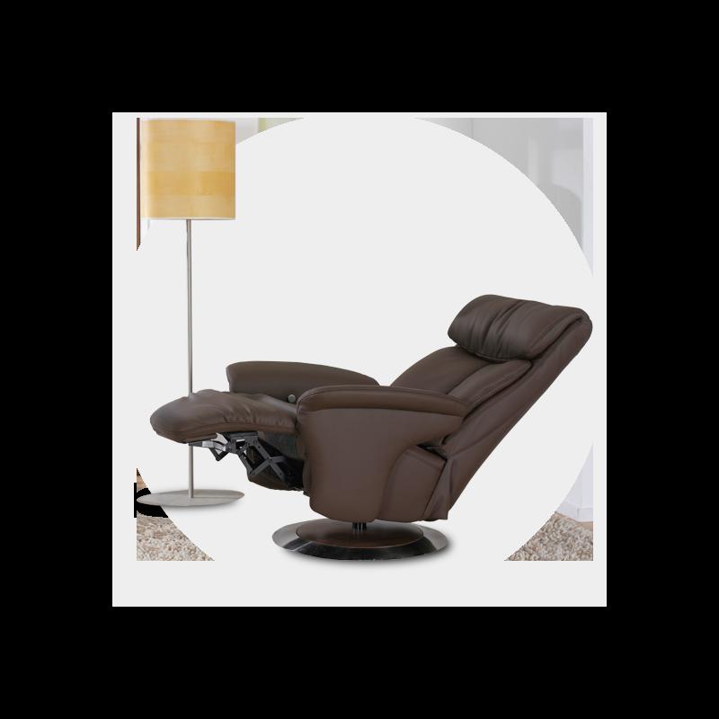 leder bruin relax design