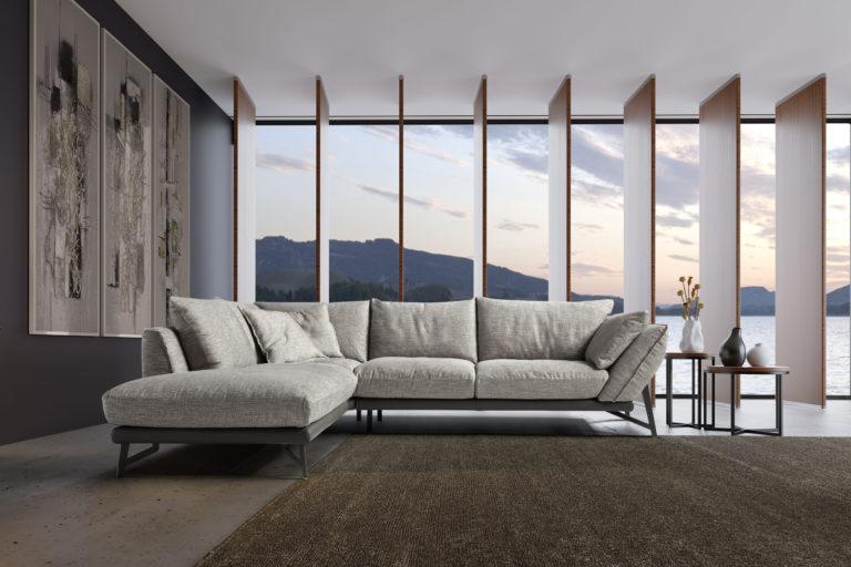 grijs salon design
