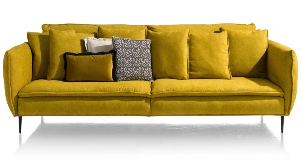 mosterd geel groen salon design