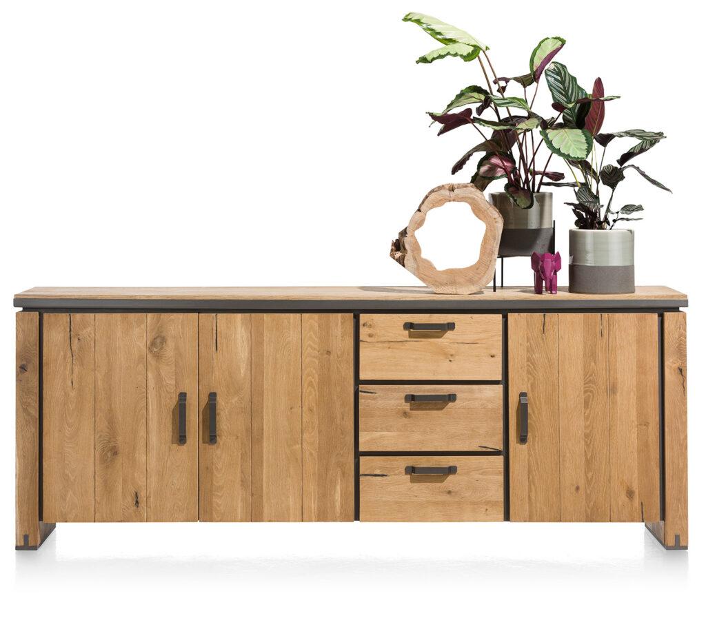 living Ponsaerts Meubelen massief hout dressoir