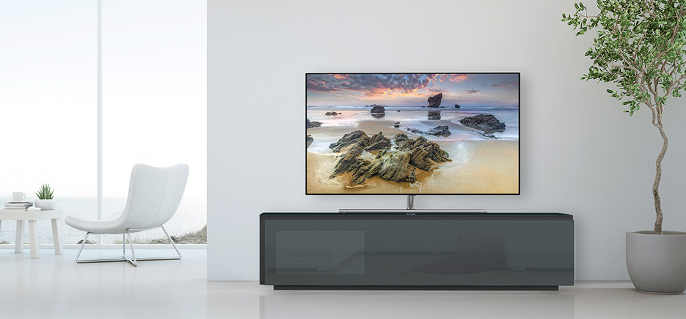 living Ponsaerts Meubelen tv-meubel donker grijs glans