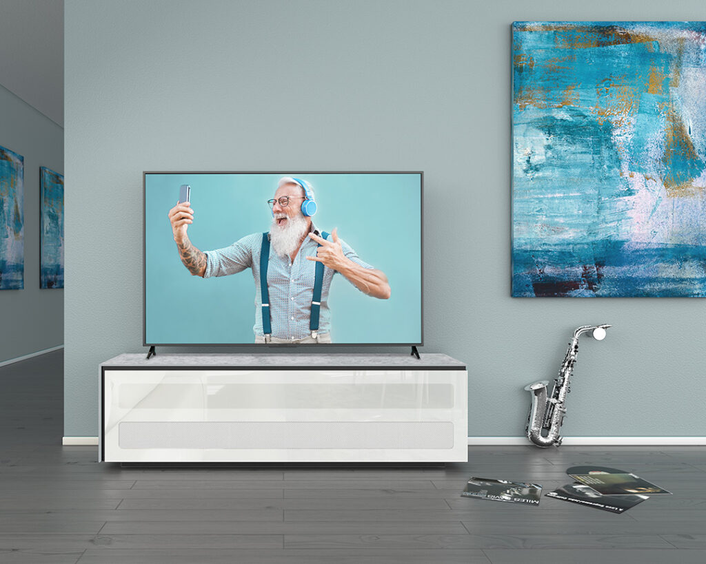 living Ponsaerts Meubelen tv-meubel wit